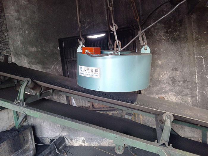 圆盘电磁除铁器应用现场